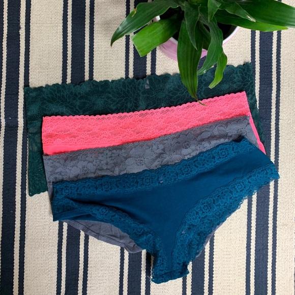 Victoria's Secret Other - Victoria Secret Lot Of 4 Panties L